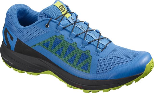 Salomon XA Elevate Shoes Herre indigo buntingblacklime green